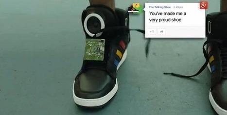 Lo último de Google: Unas zapatillas que hablan | I didn't know it was impossible.. and I did it :-) - No sabia que era imposible.. y lo hice :-) | Scoop.it