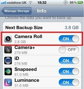 Save iCloud Storage By Managing Your Backups On Your iOS Device [iOS Tip] - Cult of Mac | Apple Rocks! | Scoop.it