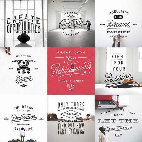 Quand la photographie rencontre le lettering | typographie, nouveaux médias | Scoop.it