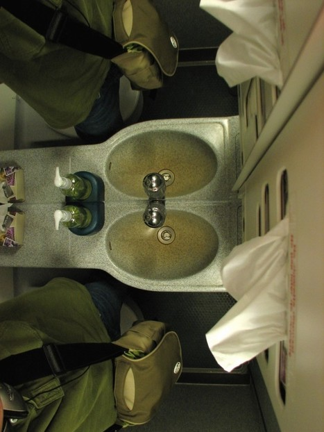 Airplane Bathrooms Are Getting Even Smaller! - The Boundary Bathrooms Blog   Bathrooms   Scoop.it