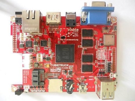 Cubietruck Development Board Features AllWinner A20 SoC, 2GB RAM, and Gb Ethernet | XBMC | Scoop.it