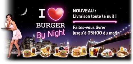 I ♥ Burger- Fast Food à l' Américaine dans le plus ancien arrondissement de Paris ! | r | Scoop.it