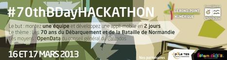 Le Conseil général du Calvados organise le 70thBDayHackaton les 16-17 mars 2013   Services & usages numériques dans les collectivités territoriales   Scoop.it