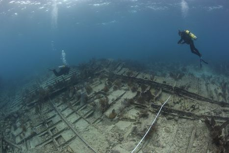 'Mike's Wreck': 119-Year-Old Shipwreck Photos , Hannah M. Bell Found Off Coast Of Key Largo, Did The Sunken Ship Help Sink The Quoque In 1920? | HeritageDaily Archaeology News | Scoop.it