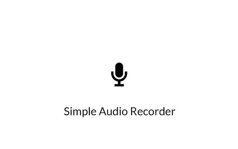 Simple Audio Recorder extension for Chrome | Cool School Ideas | Scoop.it