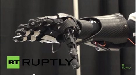 3D Printed Open Source Bionic Hand controlled by a Smartphone | Tecnología | Scoop.it