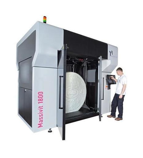 Stratasys backs Massivit's supersized 3D printer development with investment | 3D Printing and Fabbing | Scoop.it