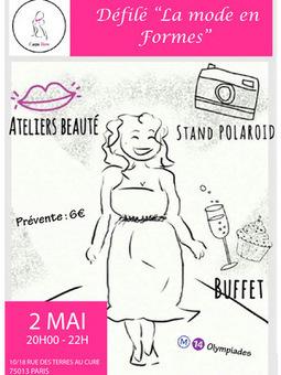 """""""La Mode en formes"""" : un défilé pour lutter contre l'anorexie   PSYCHOMOTRICITÉ et TCA   Scoop.it"""