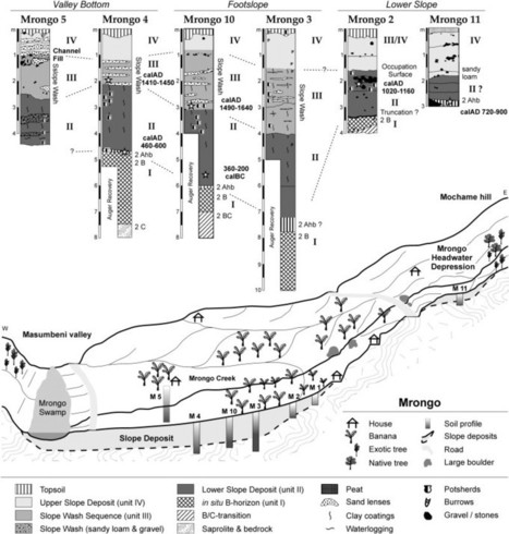 Farmers, smelters and caravans: Two thousand years of land use and soil erosion in North Pare, NE Tanzania | Archaeobotany and Domestication | Scoop.it