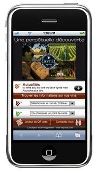 Les vins des Châteaux & Domaines de Castel font la foire en QR Code   Le smartphone au service du vin   Scoop.it