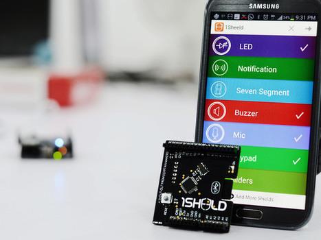 1Sheeld, A Super Clever All-Purpose Arduino Shield, Goes Up On Kickstarter ... - TechCrunch | Geek Stuffs | Scoop.it