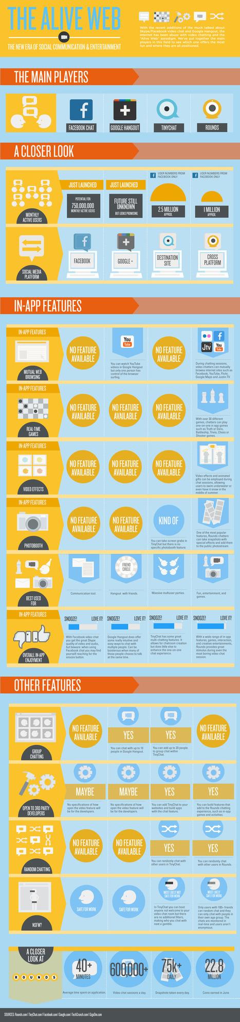 Videoconferenze: Una Infografica Comparativa | Fare Videoconferenze | Scoop.it