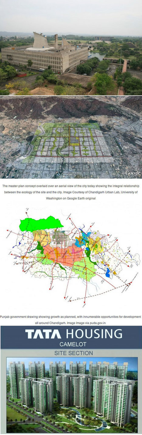 Chandigarh Under Siege: Le Corbusier's Capitol Complex THREATENED by Housing Development | Urbanisme | Scoop.it