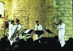Sigma Project sax quartet cerró un ciclo musical que es «un lujo» | Euskal baserria, etnografia, bizimodua eta tradizioa | Scoop.it