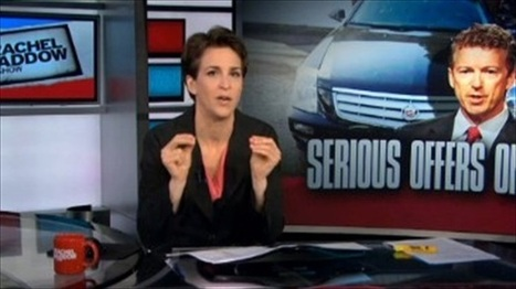 Rachel Maddow: Kentucky Democrats forced Rand Paul into a corner by rejecting 'LBJ law' | Daily Crew | Scoop.it