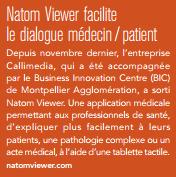 Natom viewer dans le magazine Montpellier Agglo de février 2014. | La revue de presse de Callimedia | Scoop.it