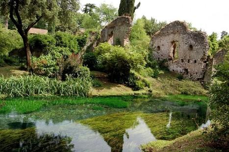 Giardino di Ninfa: un jardín construido entre las ruinas de un antiguo pueblo romano   LVDVS CHIRONIS 3.0   Scoop.it