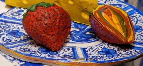 Three-Dimensional Paintings Made Entirely Out of Paint   Art of Day   Machinimania   Scoop.it