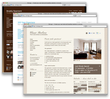 A sneak preview of some more Stinngo B&B website designs | Bed and Breakfast Marketing | Scoop.it