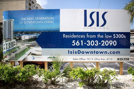 Forced to rebrand - ISIS condo in West Palm Beach? Not anymore.   Branding and Graphic Design   Scoop.it