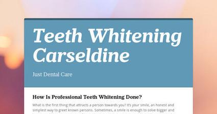 How Is Professional Teeth Whitening Done? | Choosing Cosmetic Dentist Brisbane wisely | Scoop.it