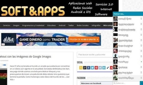 Tawea, una extensión para chatear en Facebook desde cualquier web.-   Google+, Pinterest, Facebook, Twitter y mas ;)   Scoop.it