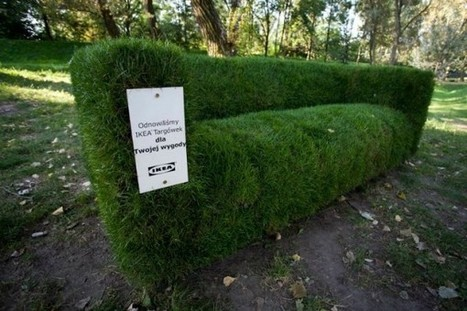 IKEA en vert | streetmarketing | Scoop.it