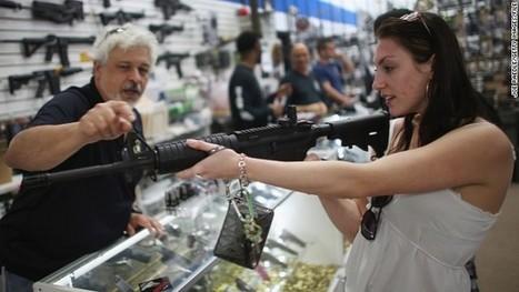Gun sales boom on Black Friday: Almost 3 background checks per second - CNN   Black Friday and Thanksgiving ESL - EFL resources   Scoop.it
