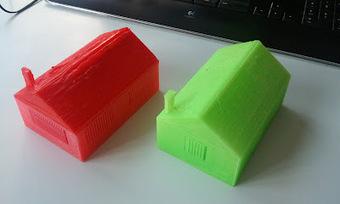 3D-Drucken: Musterhäuser der SuS stehend und liegend   Big and Open Data, FabLab, Internet of things   Scoop.it