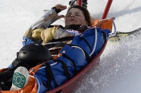 J.O : Vidéo de la chute spectaculaire de Jacqueline Hernandez   Alpes   Scoop.it