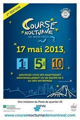Première édition de la course nocturne de Montréal Cité Nature - Nouvelles Hochelaga-Maisonneuve | courir | Scoop.it