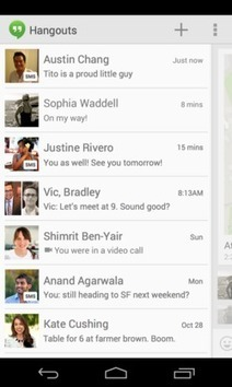 Envoyer des SMS depuis Google Hangouts | Marketing & communication culturelle | Scoop.it