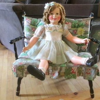 """1960 All Original Shirley Temple By Ideal 35"""" 