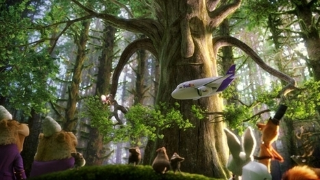 The Spot: FedEx Visits an Enchanted Forest With BBDO and Psyop | Adweek | Psychology of Consumer Behaviour | Scoop.it