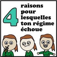 4 raisons pour lesquelles ton régime échoue | 16s3d: Bestioles, opinions & pétitions | Scoop.it