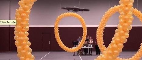 Un AR.Drone contrôlé par la pensée | Actualité robotique | Scoop.it