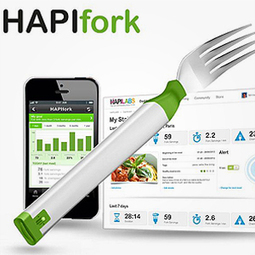 Smart fork monitors eating speed, embarrasses speedy diners   It's Show Prep for Radio   Scoop.it