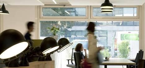 Espaces de coworking : des salariés au milieu des free-lances et startupers | Le télétravail | Scoop.it