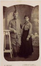 Ernest Péchenet et Germaine Anchet | GenealoNet | Scoop.it