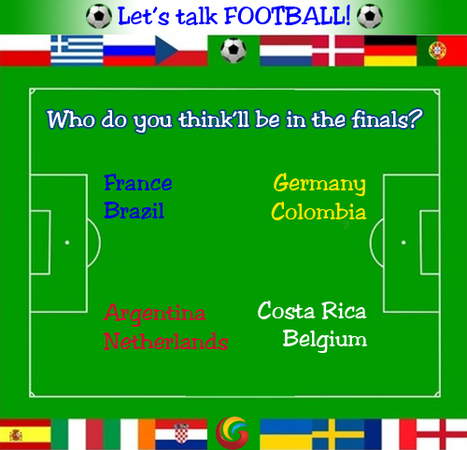 LET'S TALK FOOTBALL | Who do you think will be in the finals? | Galgotias University | Scoop.it