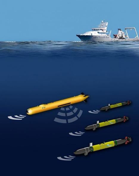 AUVs to pack-hunt for seabed ore bodies | Underwater Robotics | Scoop.it