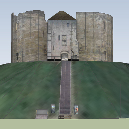 Clifford's Tower by G3FX - 3D Warehouse | 3D Model | Scoop.it