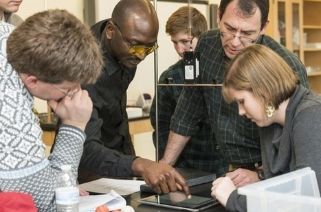 Math, science teachers come together at UD for interdisciplinary lessons - University of Delaware | Science 6-8 | Scoop.it