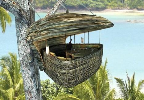 Lofty Tree Pod Dining at the Soneva Kiri Resort Thailand | CAMPING VALDERREDIBLE. | Scoop.it