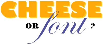 Cheese or Font | aboutdiseno | Scoop.it