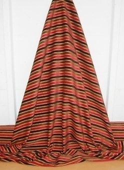 VIP SPECIAL OFFER Velvet stripe chenille for curtains and soft furnishings, 11m's available. | Welcome to Discount Fabrics Lincs | Scoop.it