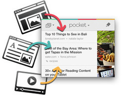 Pocket (Formerly Read It Later) | Tools for Teaching and Learning | Scoop.it