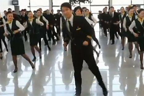 Video: Watch flight attendants surprise travellers with hip hop dance routine - Mirror.co.uk | Sound Waves & Style | Scoop.it