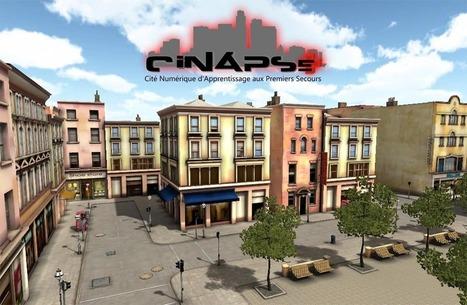 Teaser de CiNACity, le jeu pour apprendre les gestes d'urgence   Serious-Game.fr   Pédagogie et Multimédias   Scoop.it