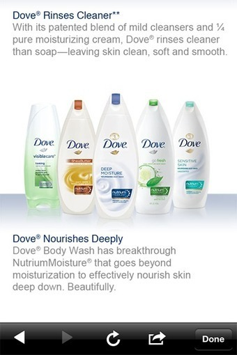 Unilever's Dove promotes beauty products through multichannel digital effort - Advertising - Mobile Marketer   BEAUTY + SOCIAL MEDIA   Scoop.it